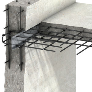 reinforced concrete rebar connection system