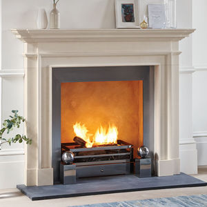 contemporary fireplace mantel