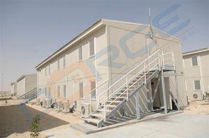prefab building / modular / concrete / steel