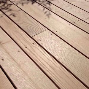 solid wood deck boards
