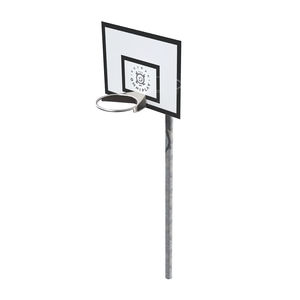 wall-mounted basketball hoop