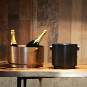 stainless steel champagne bucket / commercial