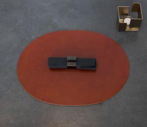 leather trivet / square / round / rectangular