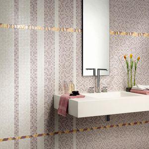 indoor tiles / wall / porcelain stoneware / plain