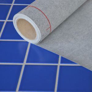 insulating waterproofing membrane / for flooring / roll / polypropylene
