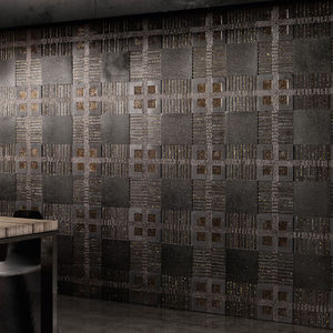 indoor mosaic tiles / wall / marble / square
