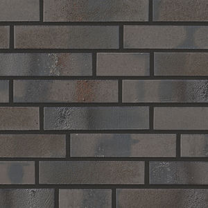 clinker cladding brick / for facade / brown