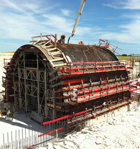 curved formwork / steel