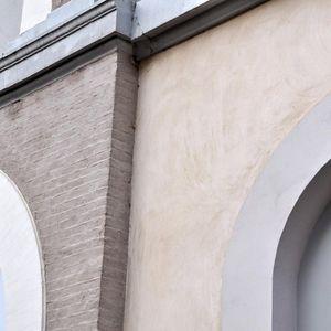 cladding coating / facade / lime / hydraulic