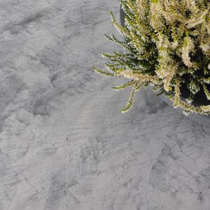 waxed concrete