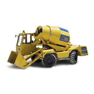 diesel self-loading concrete mixer