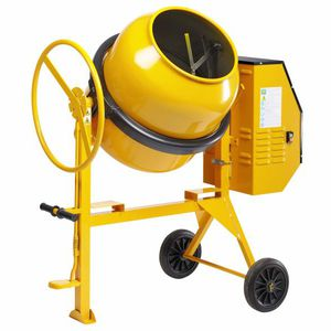 mobile concrete mixer / compact / electric