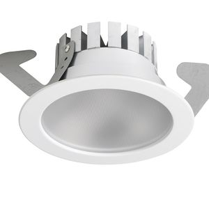 built-in downlight / for swimming pools / LED / round