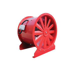 axial exhaust fan / duct / roof / commercial