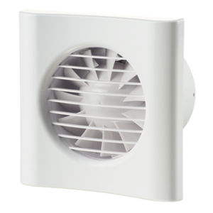 axial exhaust fan / duct / wall-mounted / residential