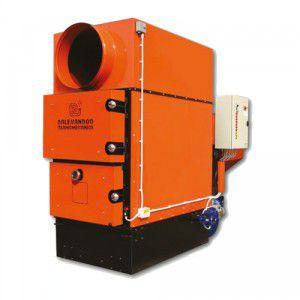 pellet hot air generator