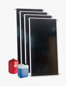 hot water production solar kit