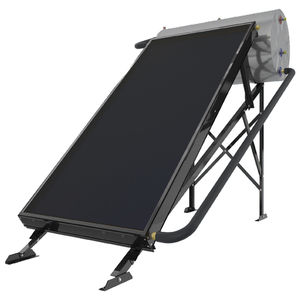 solar water heater / free-standing / horizontal / thermosiphon