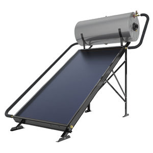 solar water heater / free-standing / horizontal / commercial