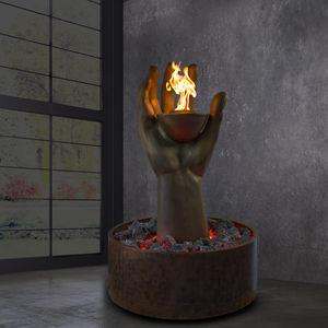 bioethanol fireplace / original design / open hearth / central