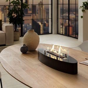 oval bioethanol burner
