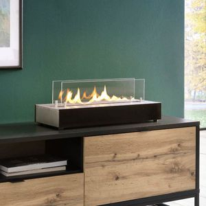 rectangular bioethanol burner / contemporary