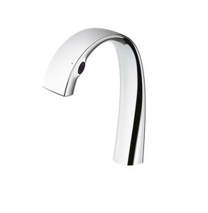 chrome-plated brass washbasin spout