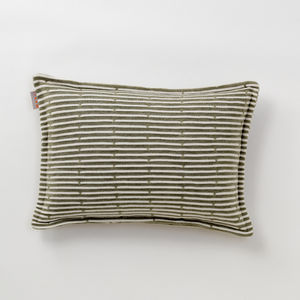 outdoor cushion / square / rectangular / striped