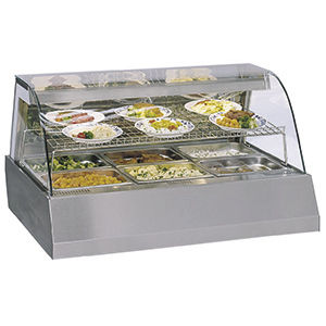 countertop warmer display case / viewable / for shops / for pastry shops