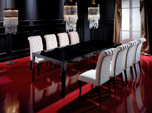 classic dining table / metal