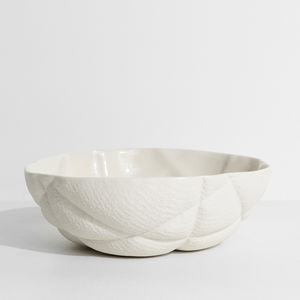 porcelain salad bowl