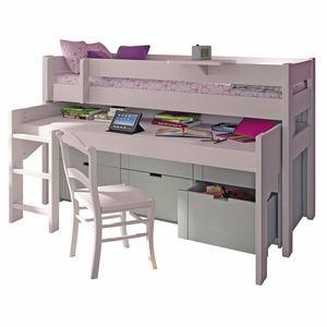 loft bed / single / contemporary / child's