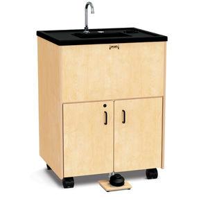 integrated hand basin