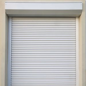 residential metal shutter