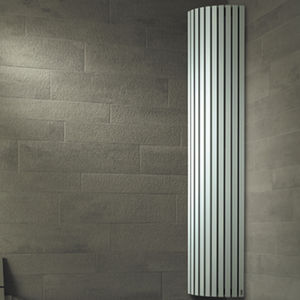 electric radiator / steel / contemporary / tube
