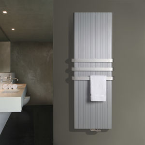hot water towel radiator / aluminum / contemporary / bathroom