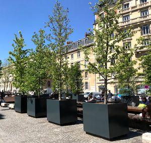public space planter