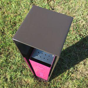 pedestal ashtray / galvanized steel / COR-TEN® steel / for outdoor use