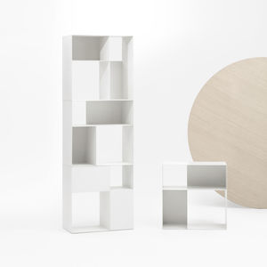 modular bookcase / high / low / contemporary