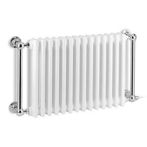 electric radiator / hot water / metal / contemporary