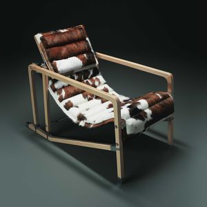 linen deck chair