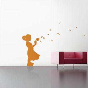 silhouette wall sticker