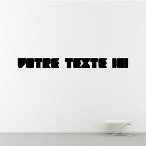 text wall sticker