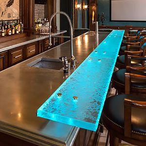 bar counter / kitchen / glass / upright