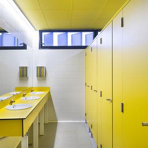 laminate toilet cubicle