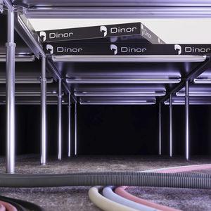 steel raised floor pedestal