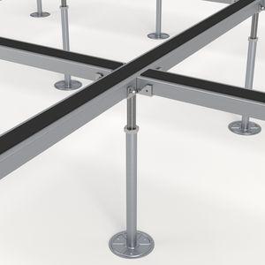 metal raised access floor structure