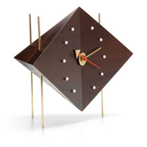 contemporary clocks / analog / desk / cast iron