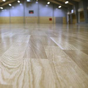 engineered parquet floor / floating / oak / maple