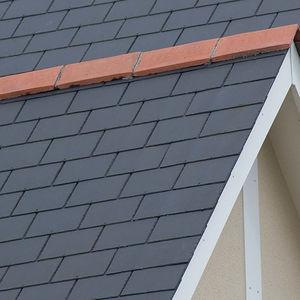 Flat Roof Tile Diamond Cembrit Limited Fiber Cement Brown Black
